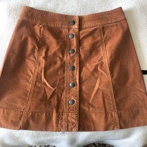 Madwell Button Down Skirt